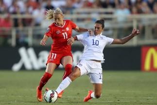 Fussball Frauen Laenderspiel - USA - Schweiz