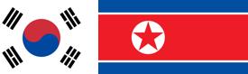 Flagge Nordsüdkorea